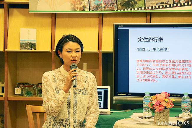 d1f545065ff 2015年3月28日(土)、錦町店でモデル・ERIKOさんのトークショーを行ないました。